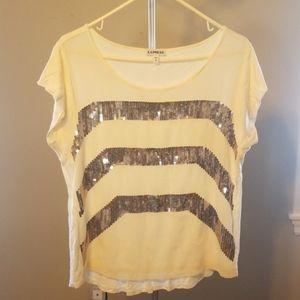 Express sequined shirt